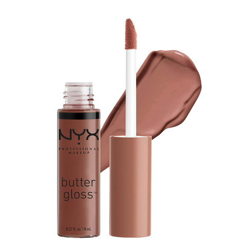 Best Selling NYX PROFESSIONAL MAKEUP Butter Gloss Lip Gloss Ginger Snap, Chocolate Brown