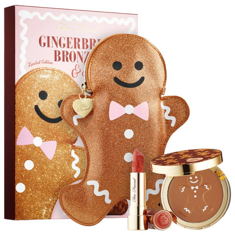 TOO FACED Gingerbread Bronzed & Kissed Gift Set