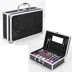 Teens Girls Starter Makeup Cosmetic Kit Set Storage Case 54 Piece All In One