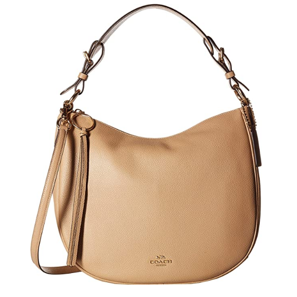 Polished Pebble Leather Sutton Hobo