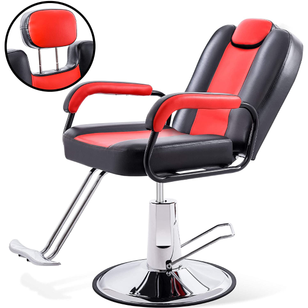 Heavy-duty Hydraulic Pump Ergonomic Design Salon Chair