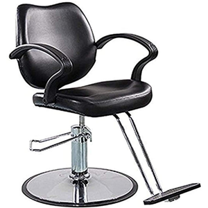 Salon Equipment | Heavy Duty Hydraulic Pump Barber Chair for Hair Stylist Women Men