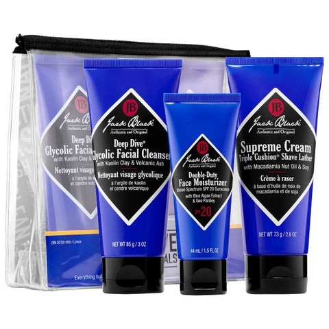 Skincare for Men | JACK BLACK Shave Essentials