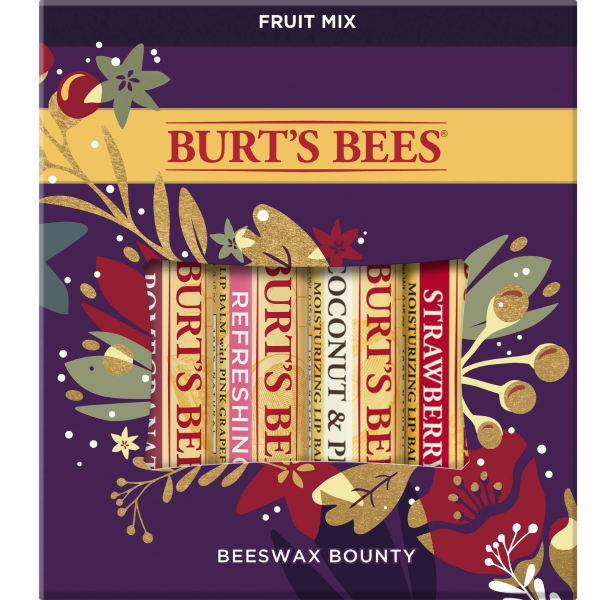 Burt's Bees 100% Natural Lip Balm Gift Set