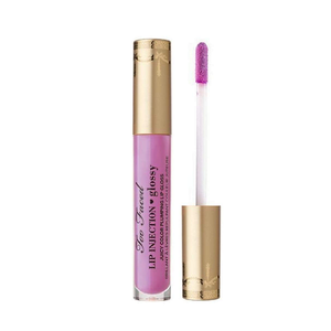 Too Faced Lip Injection Glossy Juicy Color Plumping Lip Gloss in Like A Boss (Orchid)