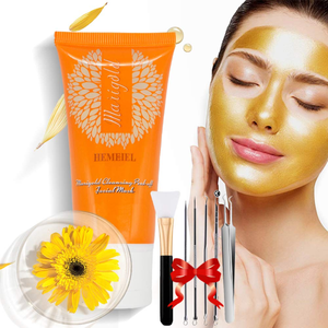 Calendula Peel Off Mask Blackhead Remover Mask 3-in-1 Deep Cleansing Pore & Acne
