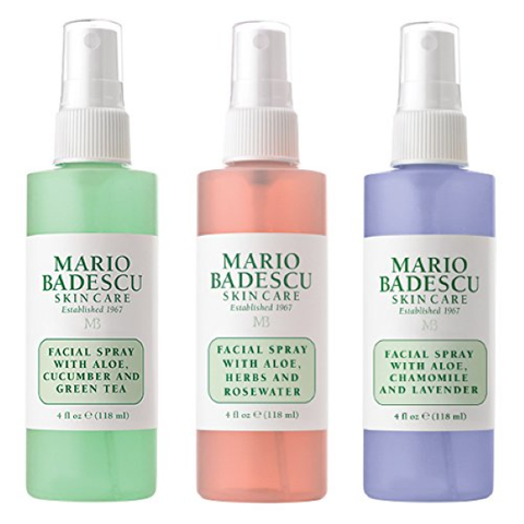 Skincare |  Mario Badescu Spritz Mist and Glow Facial Spray Collection Trio