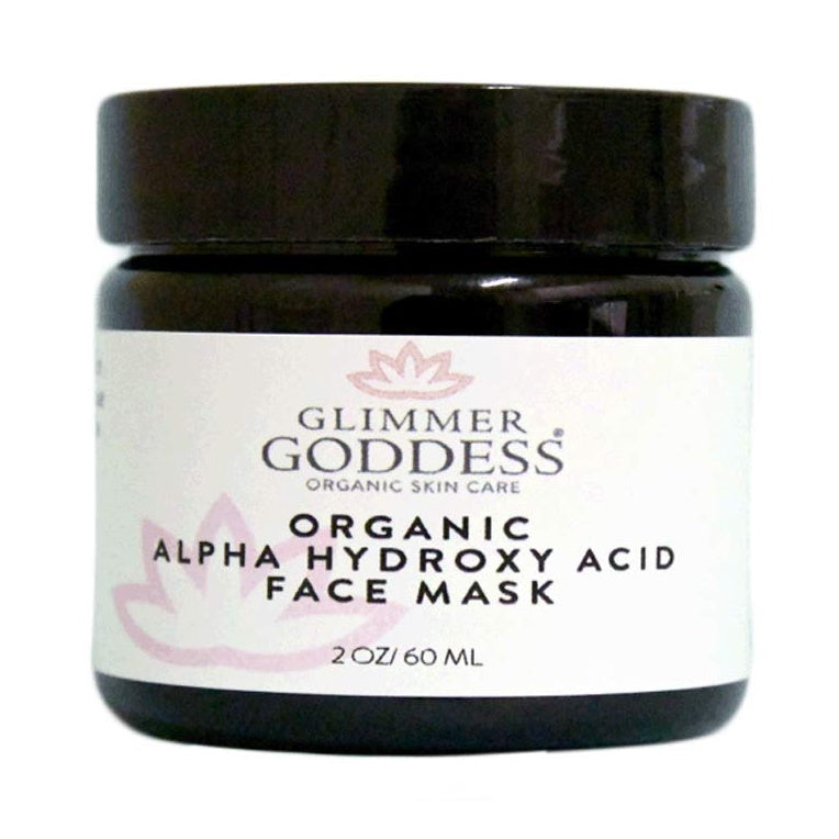 Face Mask | Organic Alpha Hydroxy Acid and Hyaluronic Acid Face Mask