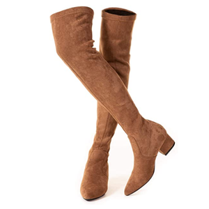 Women Boots Over Knee Long Boots Fashion Boots Heels Autumn Quality Suede
