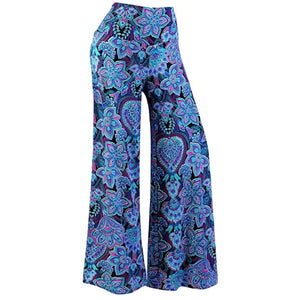 Women's Stretchy Wide Leg Palazzo Lounge Pants