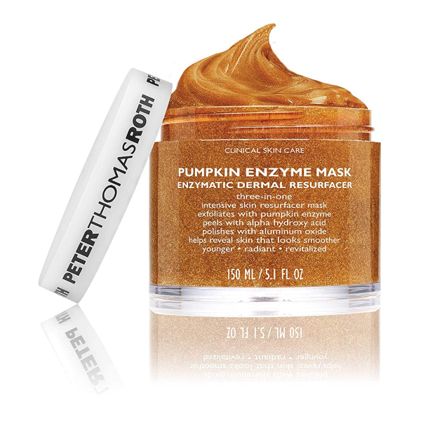 Pumpkin Enzyme Mask Exfoliating Pumpkin Facial Mask for Dullness, Fine Lines, Wrinkles