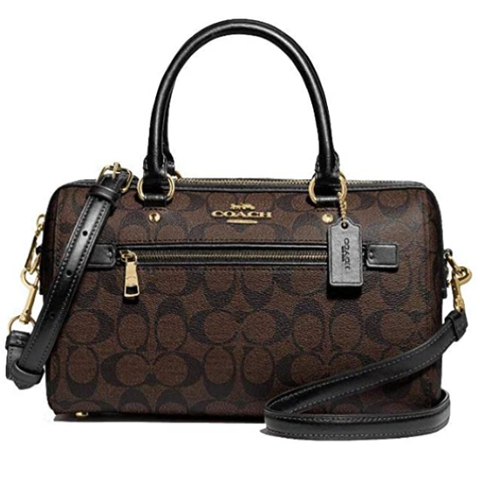 Coach Handbags and Purses | Rowan Satchel In Signature Canvas