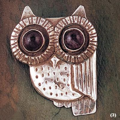 William Spratling's iconic owl brooch