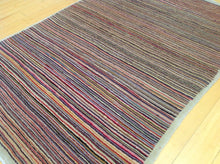 Load image into Gallery viewer, Beautiful Fine Tribal Stripe Peshawar Gabbeh Design Best Handknotted Real Wool Rug