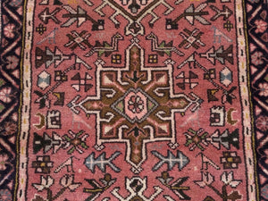 Persian Runner Traditional HandKnotted Hand-Made Runner-Rug100-Percent Wool