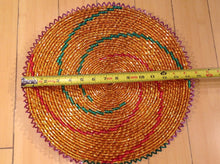 Load image into Gallery viewer, handwoven southwestern modern design basket handmade 14inches weave brbal 21