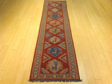 Load image into Gallery viewer, Fine Afghani Tribal Design Handmade Hand-Knotted 100-Percent Wool Runner-Rug