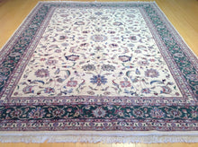 Load image into Gallery viewer, Beautiful Interior-Decorator Pretty Handknotted Handmade Traditional Floral Design Classy Real Wool Rug