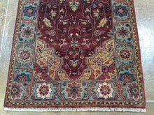 Load image into Gallery viewer, Fine Oriental Serapi Heriz Design Hand-Knotted 100-Percent Wool Runner-Rug