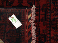 Load image into Gallery viewer, Long Fine Hand-Knotted Turkoman Khal Mohammadi 100-Percent Wool Runner-Rug