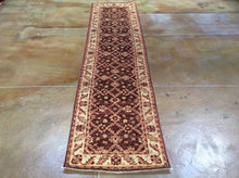 Load image into Gallery viewer, Fine Afghan Oriental Ziegler Chobi Hand-Knotted 100-Percent Wool Runner-Rug