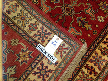 Load image into Gallery viewer, Oriental Super Kazak Caucasian Design Hand-Knotted 100-Percent Wool Runner-Rug