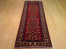 Load image into Gallery viewer, Oriental Hand-Knotted Super Kazak Caucasian Design 100-Percent Wool Runner-Rug