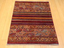 Load image into Gallery viewer, Kazak Khorjah Tribal Design Handmade Lovely Handknotted Real Wool Amazing Unique Rug