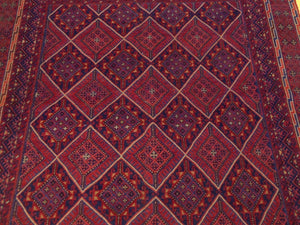 Beautiful Interior-Decorator Pretty Handknotted Handwoven Afghan Tribal Mashwani Classy Real Wool Rug