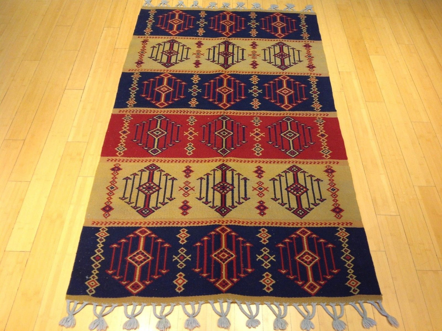 Oriental Turkish Pretty Handwoven Soumak Real Wool Handmade Classy Amazing Unique Rug