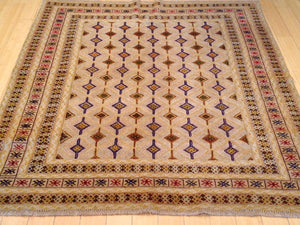 Fine Oriental Afghan Multi Flatweave Tribal Sumack Best Real Wool Unique Rug