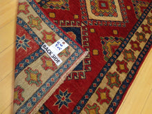 Load image into Gallery viewer, Fine Oriental Kazak Tribal Runner-Rug 100-Percent Wool Hand-Knotted Handmade