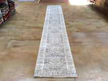 Load image into Gallery viewer, Hand-Knotted Undyed 100-Percent Wool Mumluk Design Handmade Runner-Rug