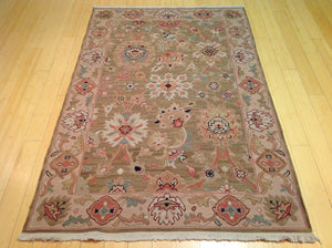 Beautiful Fine Oriental Suomack Traditional Design Real Wool Classy Handknotted Unique Rug