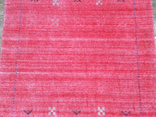 Load image into Gallery viewer, Modern/Contemporary Gabbeh Hand-Loomed 100-Percent Wool