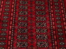 Load image into Gallery viewer, Beautiful Interior-Decorator Pretty Handknotted Oriental Jaldar Bokhara Design Real Wool Unique Rug