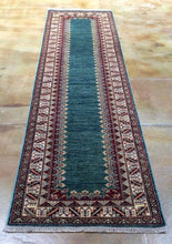 Load image into Gallery viewer, Fine Hand-Knotted Caucasian Super Kazak Design 100-Percent Wool Runner-Rug