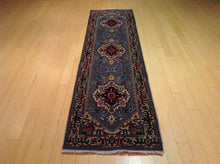 Load image into Gallery viewer, Fine Serapi Hariz Traditional Design 100-Percent Wool Hand-Knotted Runner-Rug