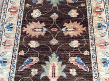Load image into Gallery viewer, Floral Design Peshawar Gorgeous Handmade Lovely Handknotted Real Wool Amazing Unique Rug