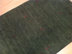 Beautiful Interior-Decorator Handloomed Gabbeh Design Real Wool Area Classy Amazing Unique Rug