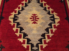 Load image into Gallery viewer, Fine Oriental Southwestern Design Handmade Lovely Handknotted Real Wool Amazing Unique Rug