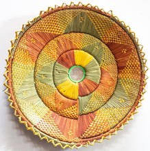 Load image into Gallery viewer, 12inches handwoven southwestern design handmade coil basket best quality 201
