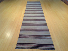 Load image into Gallery viewer, Afghan Traditional Tribal Sumak Hand-Woven 100-Percent Wool Runner-Rug