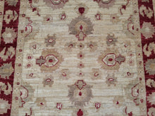Load image into Gallery viewer, Oushak Design Chobi Runner-Rug Traditional Hand-Knotted 100-Percent Wool