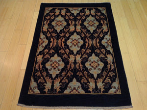 Beautiful Fine Tribal Peshawar Chobi Oushak Design Best Handknotted Real Wool Rug