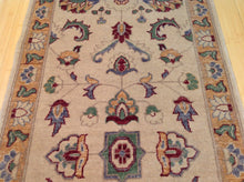 Load image into Gallery viewer, Tribal Peshawar Chobi Oushak Design Hand-Knotted 100-Percent Wool Runner-Rug