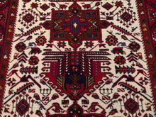 Load image into Gallery viewer, Oriental Tribal Traditional Design Handmade Lovely Handknotted Real Wool Amazing Unique Rug