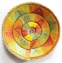 Load image into Gallery viewer, 12inches handwoven southwestern design handmade coil basket best quality 210