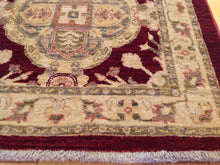 Load image into Gallery viewer, Fine Oriental Peshawar Chobi Tribal Runner-Rug100-Percent Wool Hand-Knotted