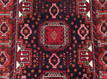 Load image into Gallery viewer, Persian Oriental Traditional Tribal Design 100-Percent Wool Runner-Rug